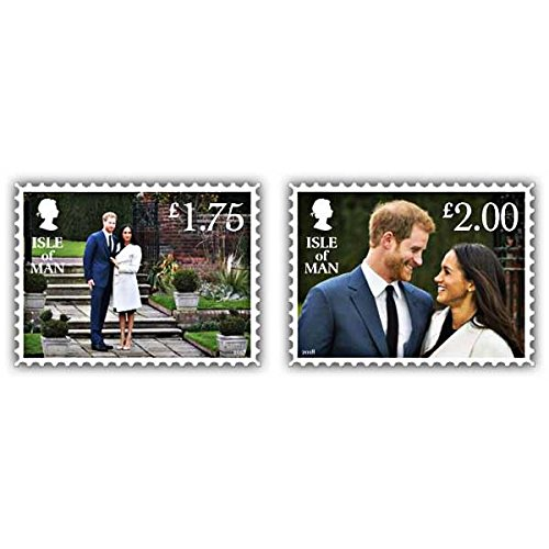 Isle of Man 2018 Harry & Meghan – Ein Fest Stempel Set (mint) (Prinzessin Diana Mint)