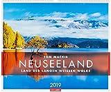 Neuseeland - Kalender 2019: Das Land der langen weißen Wolke
