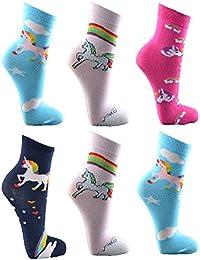 Kinder Socken, 6er Pack,angenehm weich und hautsympathisch durch Baumwolle