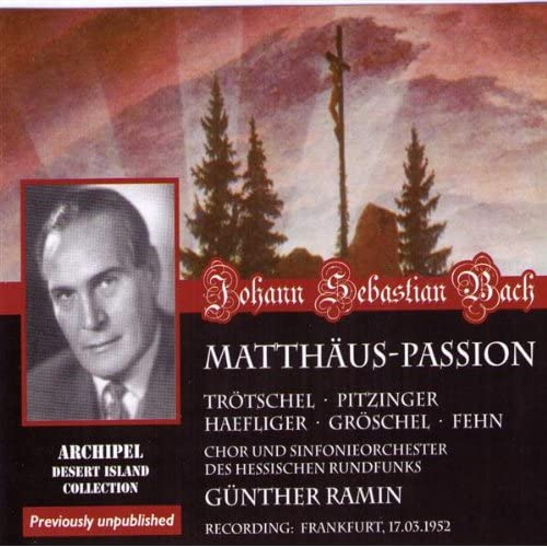 Matthäus-Passion : Part II - n74, Recitative, Am Abend, da es kühle war