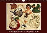 Alte europäische Ankleidepuppen aus Papier (Wandkalender 2019 DIN A4 quer): Charmante alte Bögen mit Anziehpuppen zum Anschauen oder Ausschneiden (Monatskalender, 14 Seiten ) (CALVENDO Kunst)