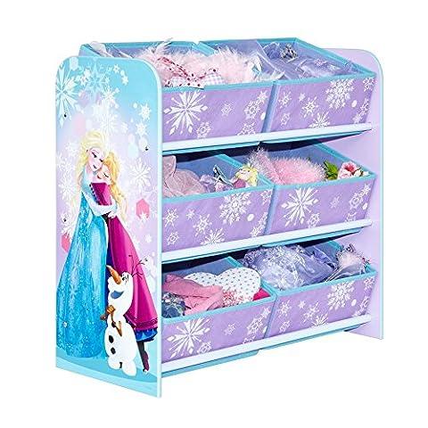 Disney La Reine des neiges Meuble de rangement avec 6bacs pour chambre enfant par HelloHome