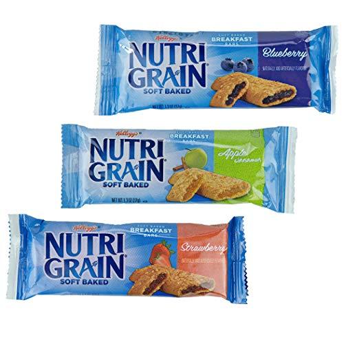 Nutri-grain Cereal Bars (Kellogg's Nutri-Grain Cereal Bars Display Assortment (1.3 Ounce, 48-Count))