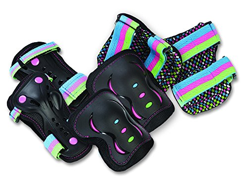 sfr-essential-kids-triple-pad-set-black-disco-multi-large