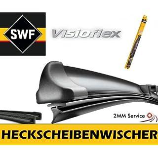 SWF VisioFlex 119502 Heckscheibenwischer 405 Heckwischer Scheibenwischer Wischerblatt Wischblatt Flachbalkenwischer Scheibenwischerblatt 2mmService