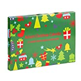 Advent Calendar,Made with Pandora DIY Beads Charms Bracelet for Kids Christmas Calendar Christmas Countdown Jewelry Box(Bracelet 8Inch)