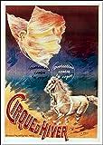 Herbé TM Poster/Reproduction 50x70cm (Image 50x70cm sur Papier 60x80cm) d'1 Affiche Vintage/Rétro Cirque Cirque d'hiver n162
