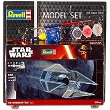 Revell 63603–Star Wars–Model Juego Tie Interceptor en escala 1: 90