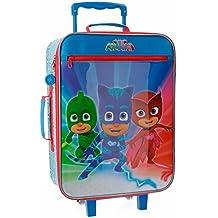 PJ Masks Winter Heroes Equipaje Infantil, 50 cm, 25 Litros, Multicolor