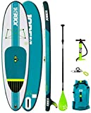 Jobe 2018 Aero Yarra Inflatable Stand Up Paddle Board 10'6 x 32 INC Paddle, Backpack, Pump & Leash