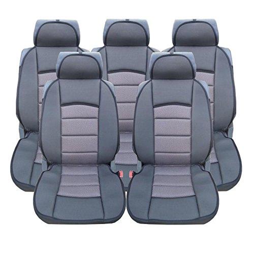 5x Sitze LUX Grau Autositzauflage Auflage Autositz Schutz Sitzschutz