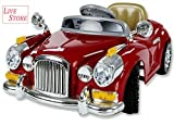 #4: Live Store Kids Ride On Battery Operated 6V BATTERY POWER Vintage Car With Remote Control (Red) Sold By Live Store