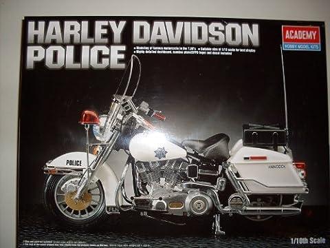 Harley Davidson Police Bike, Modell Bausatz 1:10, Academy Model Kits (Bausatz Harley Davidson)