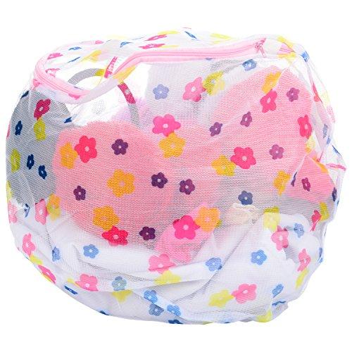 Pink Flamingo Women\'s Large Lingerie Wash bag