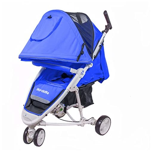 MirthMe WA10 mirthme wa10 MirthMe WA10 Baby (Sky Blue) Travel System / Baby Stroller / Baby Pram with Rain Cover 517WotSWW7L