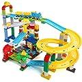 WERTY MEI Kinderspielzeug Strandspielzeug Eisenbahn-Spielzeugautos Montiert Groß-Bausteine ??Spielzeuge Geburtstagsgeschenke für Kinder von WERTY