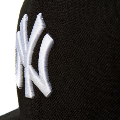 New Era Erwachsene Baseball Cap Mütze Mlb Basic NY Yankees 59Fifty Fitted Black
