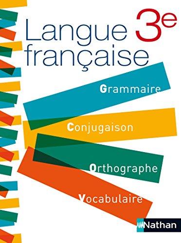 Langue française 3e
