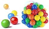 199 Stück bunte Bälle für Kinder, Babys und Tiere , 55mm Durchmesser Kinder ab 0