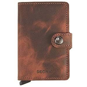 05d744a6770a3 Secrid Wallets Miniwallet Vintage 10 cm brown  Amazon.de  Koffer ...