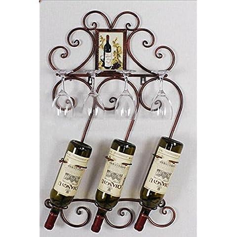 jiuxian vino rack ferro/parete/home/commerciale/vino in vetro da appendere portabicchieri/Rack/Exquisite