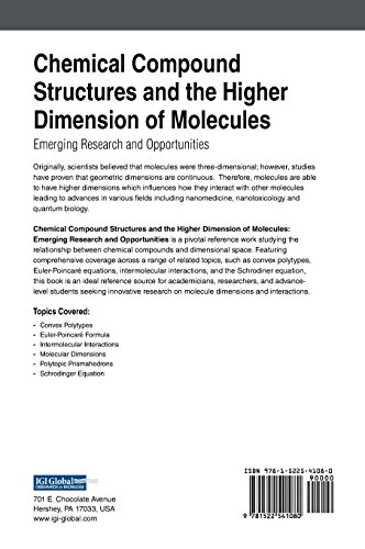 Chemical Compound Structures and the Higher Dimension of Molecules: Emerging Research and Opportunities (Advances in Chemical and Materials Engineering)
