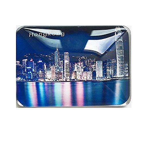 MUYU Magnet Kühlschrankmagnet Victoria Harbour Hong Kong China Souvenir Geschenk, Home & Kitchen Dekoration, magnetischer Aufkleber Hongkong Kühlschrankmagnet Collection