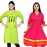 Sky Global Women's Regular Wear Kurti (C...