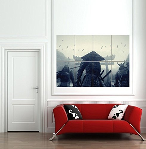 ASIAN WARRIORS SAMURAI JAPAN JAPANESE GIANT WALL ART PRINT PICTURE AFICHE CARTEL IMPRIMIR CARTELLO POSTER B1125