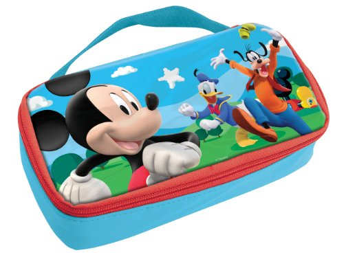Stor 34052-Borsa termica per il pranzo, motivo: Mickey Mouse Club House Shapes & Numbers