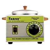 #8: SWEET PEA Thrive Professional Warmer Wax Heater Metal Body Single Bowl Model.