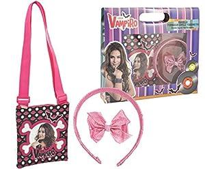 Sahinler-a90375-Chica Vampiro-Coffret-Bolsa + Accesorios Cabello