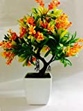 #4: Hyperboles Artificial Topiary Tree Potted Plant Garden Outdoor Bonsai Home Decor(29cm)