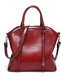 LuckES cremallera Hombro De La Personalidad De La Moda Bolso Señora Mujeres bolso de Gran bolsa Cartera Bolsa de hombro Bolsa de viaje,32cm(L)*14cm(W)*28cm(H)