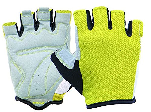 Nivia Cromo Gym Gloves, Large (Yellow/White)  available at amazon for Rs.928