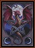 PAGAN DRAGON 2 - Cross Stitch Chart / Pattern [ PDF on a CD ]