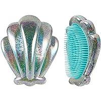 leicht zu tragen Glänzendes Plastikkamm-Shell-Puder Verwicklungs-beständiges tragbares Kamm-Haar-Prinzessin-Schönheits-Make-up... preisvergleich bei billige-tabletten.eu