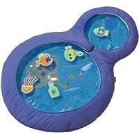 Haba 301184 - Wasser-Spielmatte kleine Taucher, wasserbefülltes Baby-Spielzeug mit beweglichen Schwimmelementen und zwei Guckfenstern, Spielzeug ab 6 Monaten preisvergleich bei kleinkindspielzeugpreise.eu