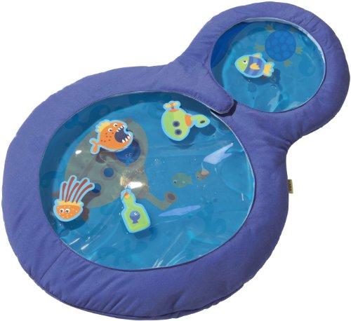 *Haba 301184 – Wasser-Spielmatte kleine Taucher, wasserbefülltes Baby-Spielzeug mit beweglichen Schwimmelementen und zwei Guckfenstern, Spielzeug ab 6 Monaten*