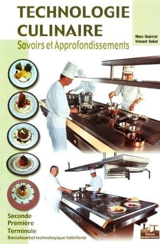 Pdf t l charger technologie culinaire bac pro h telier for Technologie cuisine bac pro