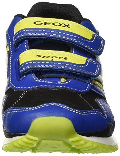 Geox Jungen J Pavel B Low-Top Blau (ROYAL/LIMEC4344)