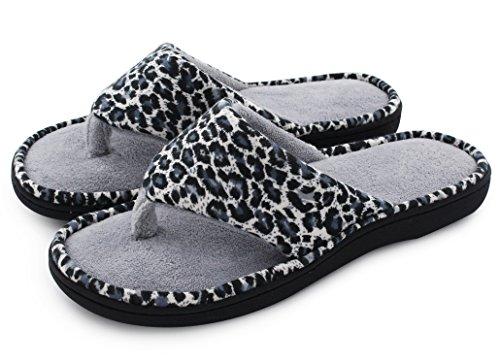 HomeTop - Flip-flop donna Leopard/Gray