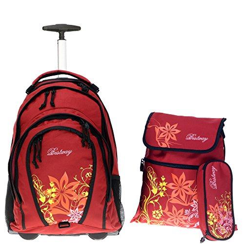 Bestway , Zaino , Flower / Violett (Rosa) - 80115-2217 rosso