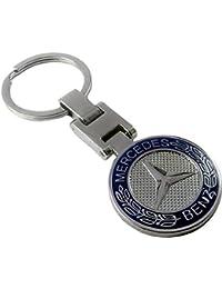 Gratitude Mercedes Benz Logo Double Sided Metallic Keychain / Key Chain / Keyring / Key Ring