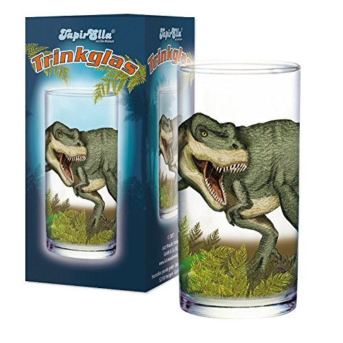 Lutz Mauder 19608 TapirElla Trinkglas T-Rex