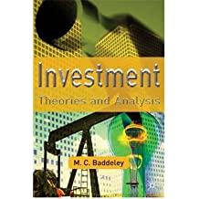 [(Investment: Theories and Analyses )] [Author: Michelle Baddeley] [Jul-2003]