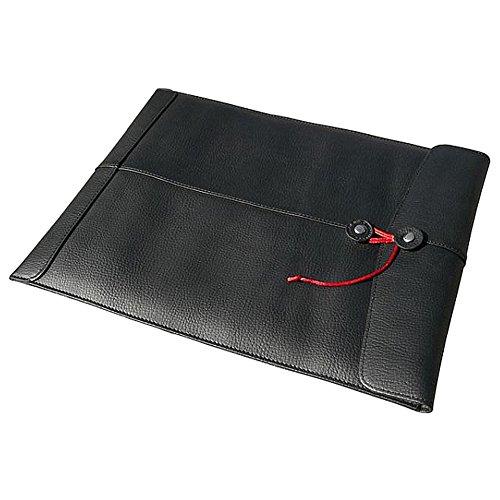 """Preisvergleich Produktbild Civilian Pro Manila-15 Leder Laptop Hülle für MacBook Pro 15"""" Schwarz"""