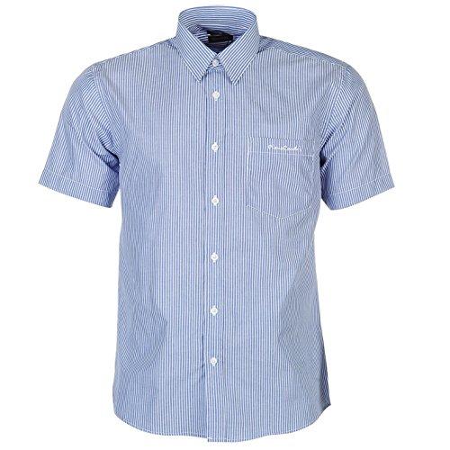 pierre-cardin-camisa-casual-con-botones-con-botones-manga-corta-para-hombre-blau-weiss-streifen-larg