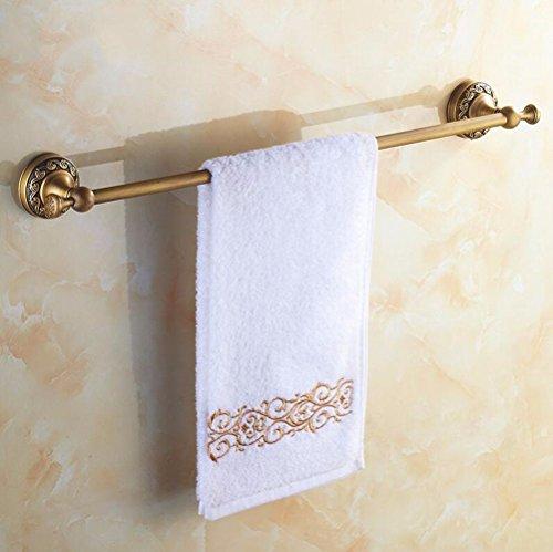 Daadi asciugamano in ottone bar antiquariato cinese asciugamano in ottone solido antichi ornamenti scolpiti asciugamano, rame, foratura a installare 50cm
