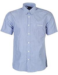 Pierre Cardin - Camisa casual - con botones - con botones - Manga corta - para hombre